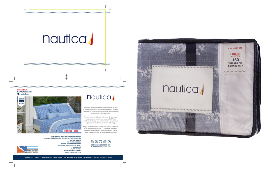 nautica packaging diseño okdesign